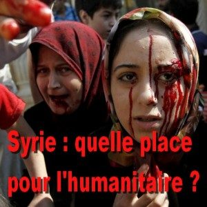 Le travail ONG en Syrie